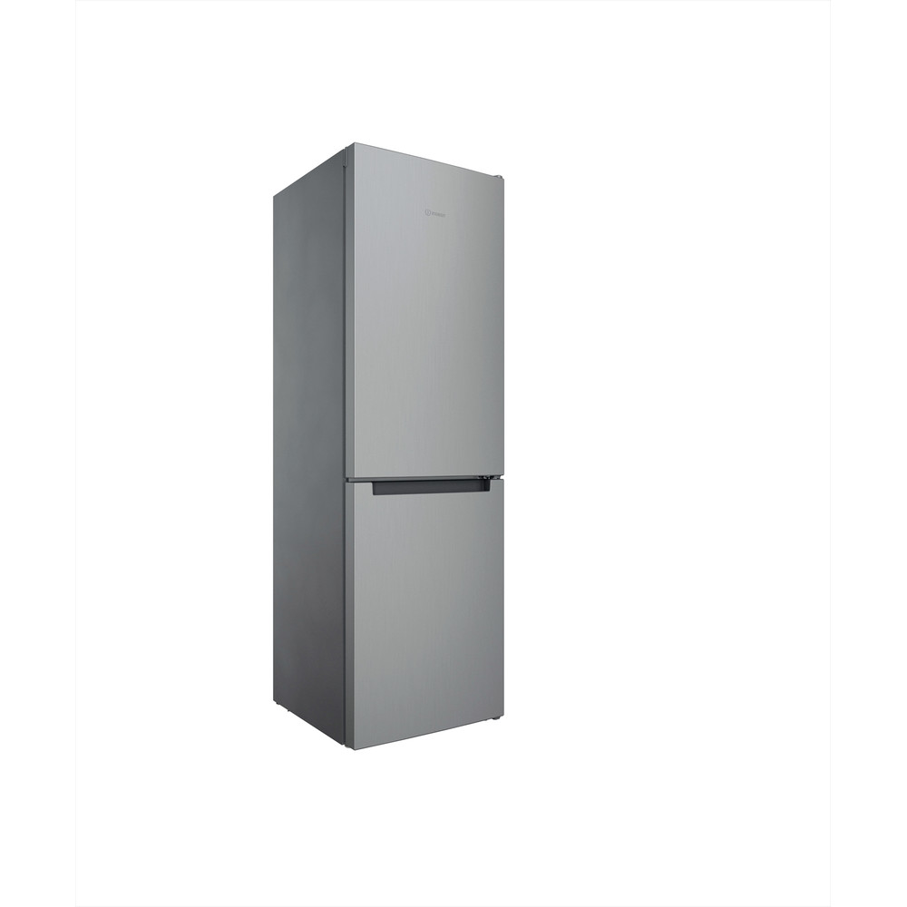 Indesit Kombinerat kylskåp/frys Fristående INFC8 TI21X Inox 2 doors Perspective