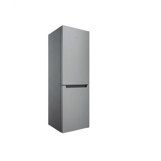 Indesit Hűtő/fagyasztó kombináció Szabadonálló INFC8 TI21X Inox 2 doors Perspective