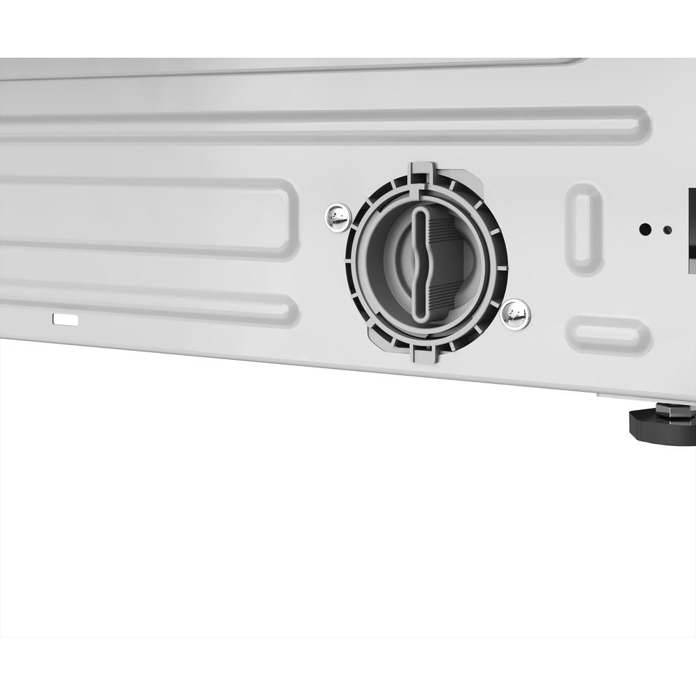Indesit Máquina de lavar e secar roupa Encastre BI WDIL 861284 EU Branco Carga Frontal Filter