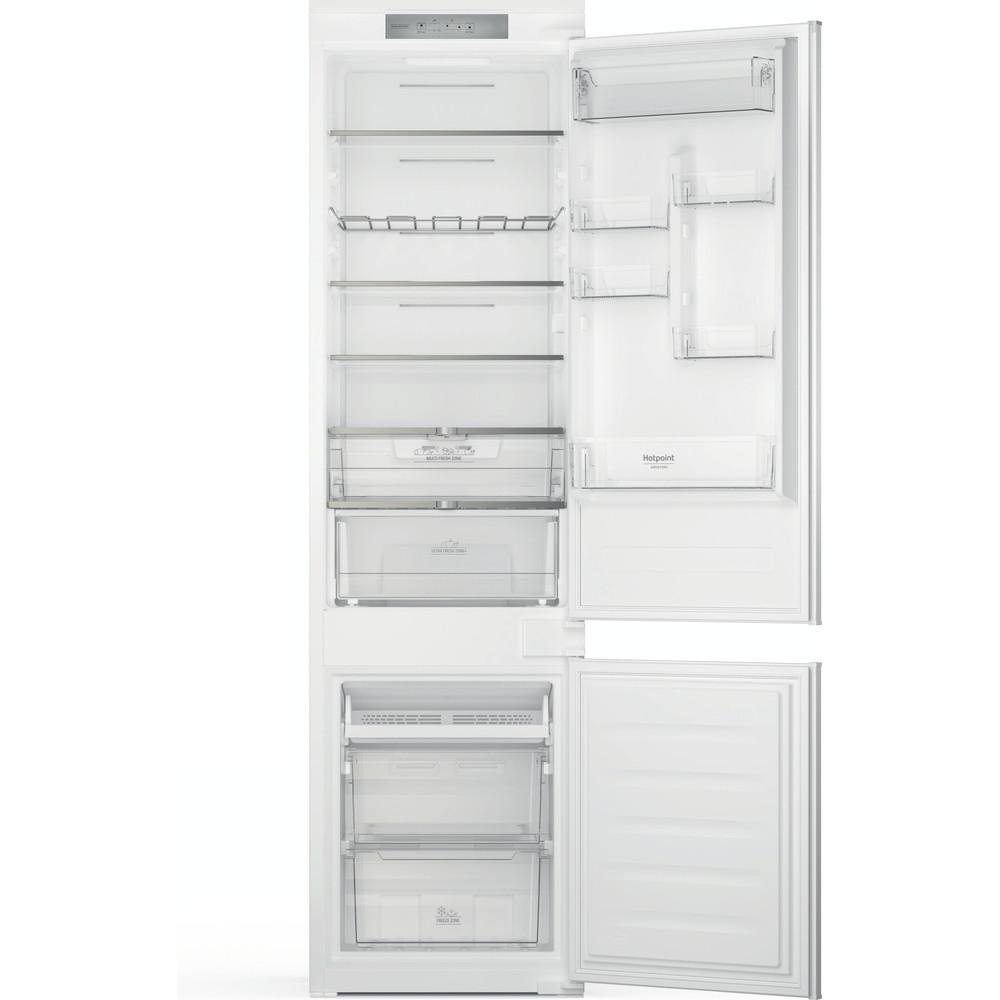 Hotpoint_Ariston Combinazione Frigorifero/Congelatore Da incasso HAC20 T321 Bianco 2 porte Frontal open