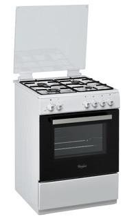 Cuisinière posable Whirlpool: 60 cm - ACM 6611 G/WH