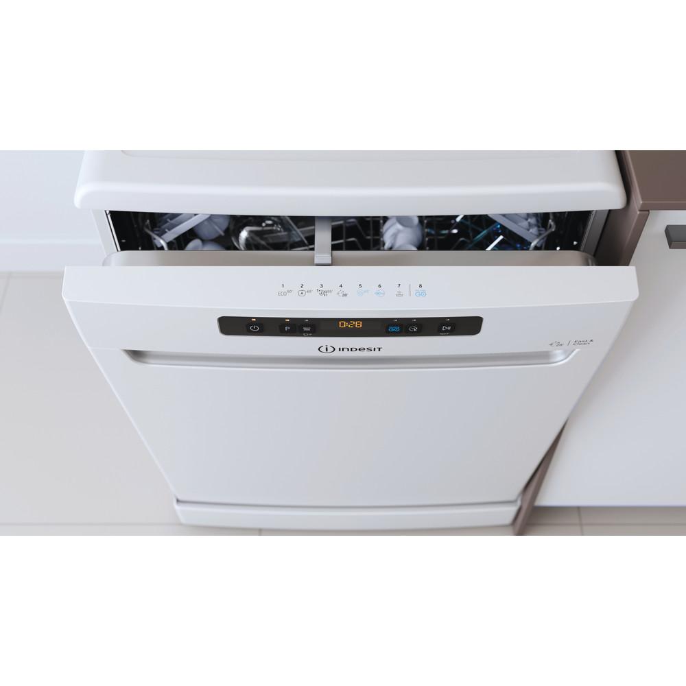 Indesit Umývačka riadu Voľne stojace DFO 3C26 Voľne stojace E Lifestyle control panel