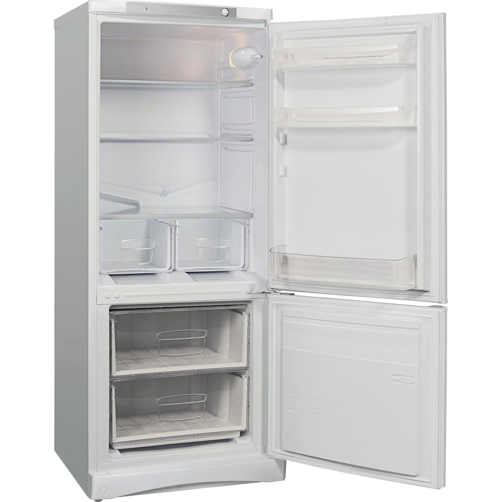 Indesit Холодильник с морозильной камерой Отдельностоящий ES 15 Белый 2 doors Perspective open