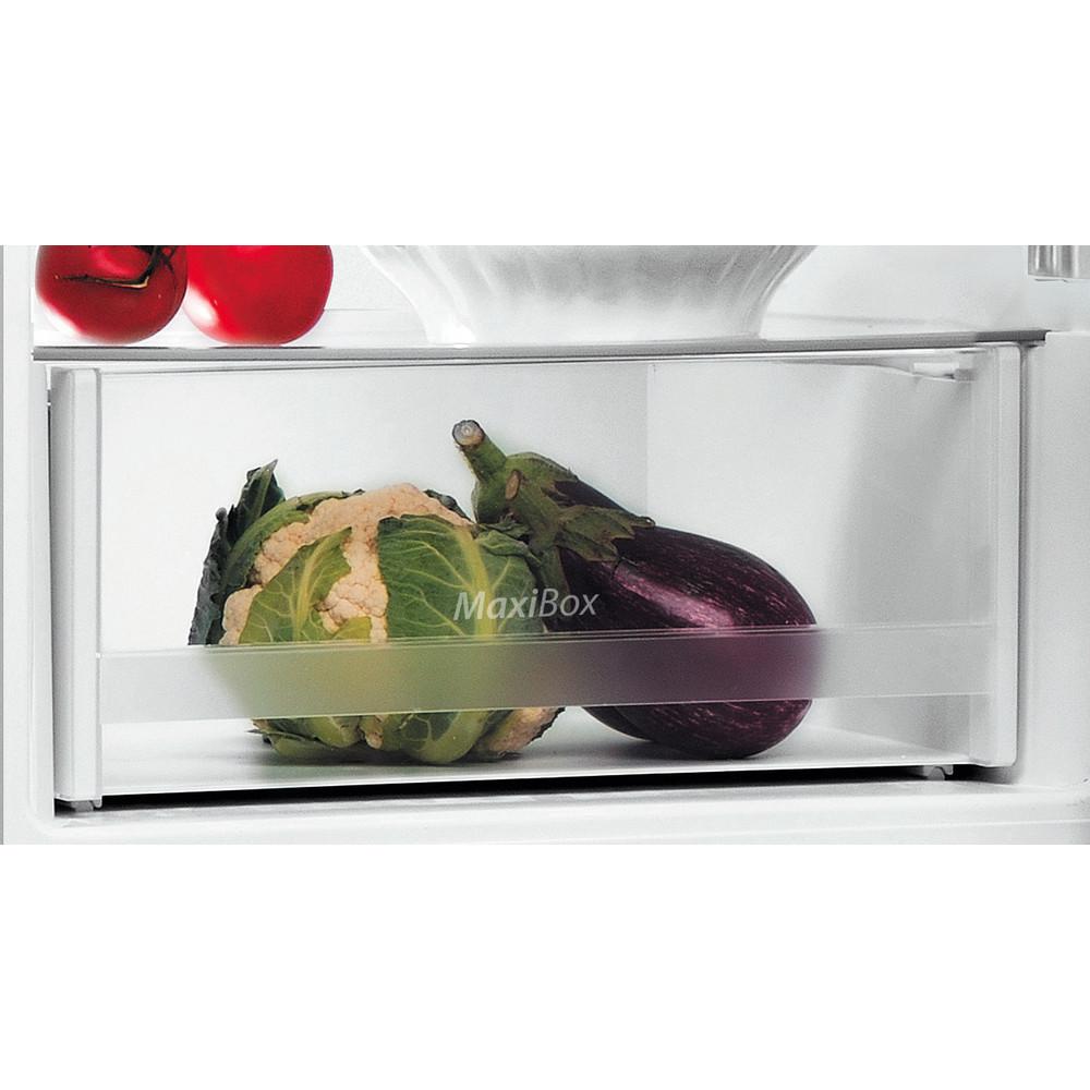 Indesit Kombinētais ledusskapis/saldētava Brīvi stāvošs LI6 S1E S Sudraba 2 doors Drawer