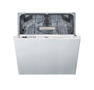 Integreret Whirlpool-opvaskemaskine: inox-farve, fuld størrelse - WIO 3O33 DE