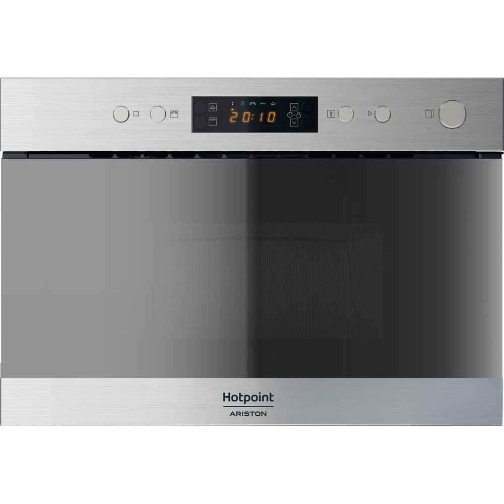 Hotpoint_Ariston Microonde Da incasso MN 314 IX HA Inox Elettronico 22 Microonde + grill 750 Frontal