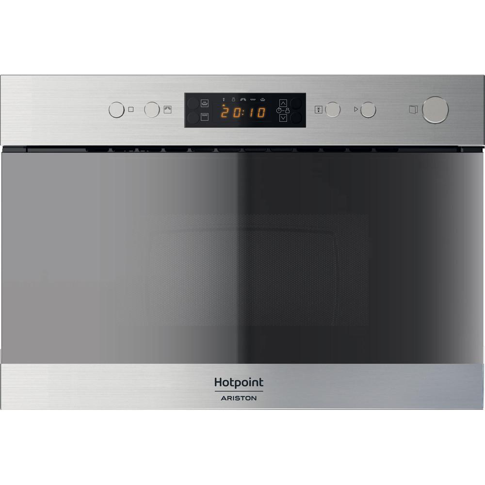 Hotpoint_Ariston Microondas Incorporado MN 314 IX HA Inox Electrónico 22 función MW + Grill 750 Frontal