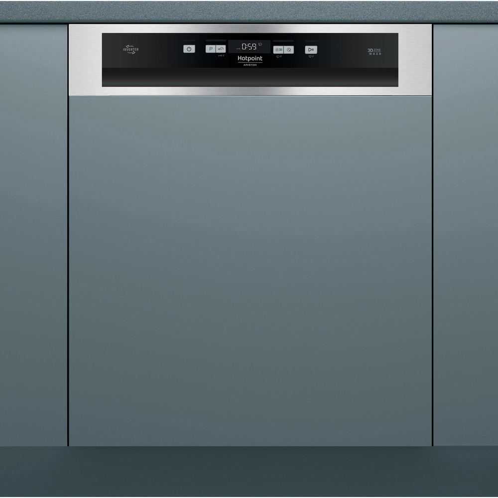 Hotpoint_Ariston Maşină de spălat vase Încorporabil HBO 3C21 W X Half-integrated A ++ Lifestyle frontal