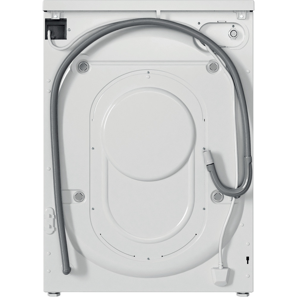 Indesit Washer dryer Free-standing IWDD 75125 UK N White Front loader Back / Lateral