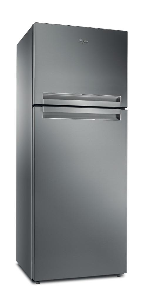 Whirlpool Комбиниран хладилник с камера Свободностоящи TTNF 8111 OX 1 Инокс 2 врати Perspective