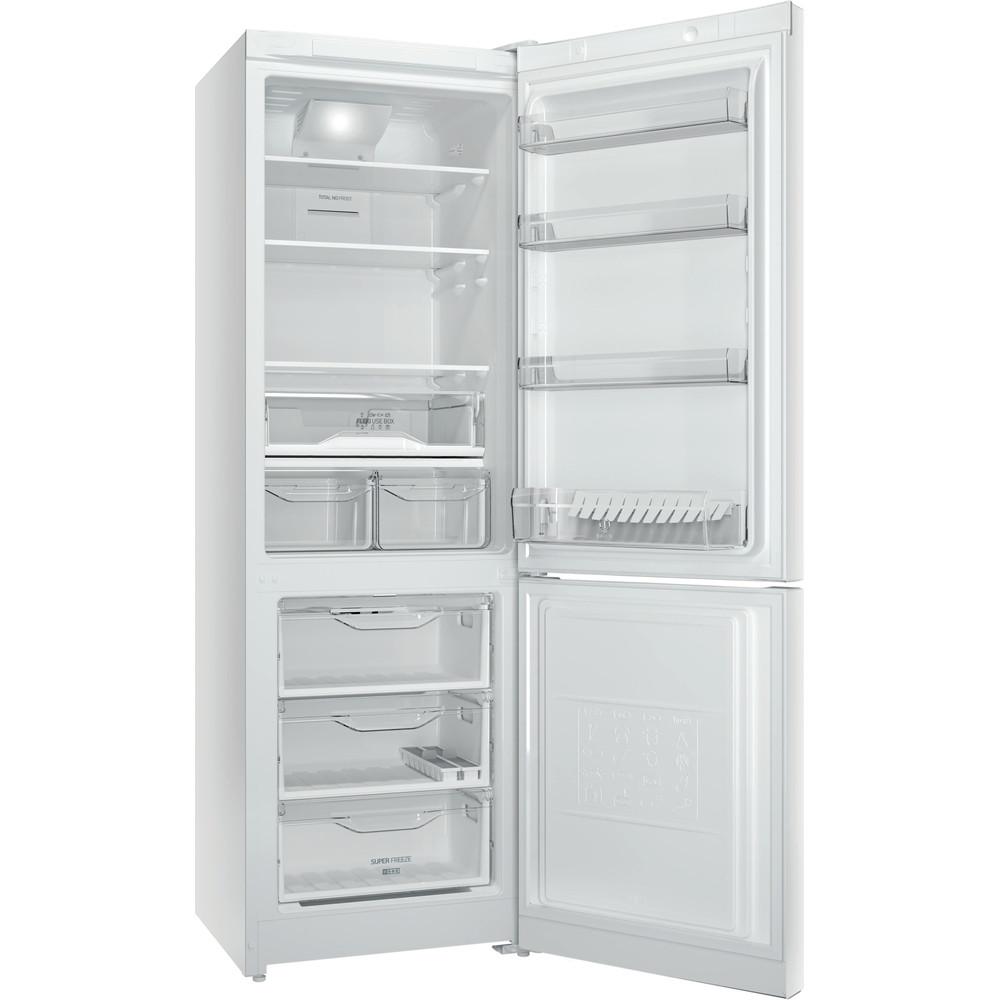 Indesit Холодильник з нижньою морозильною камерою. Соло DF 4181 W Білий 2 двері Perspective open