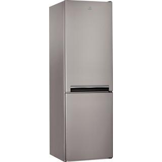 Indesit Kombinovaná chladnička s mrazničkou Voľne stojace LI8 S1 X Nerez 2 doors Perspective