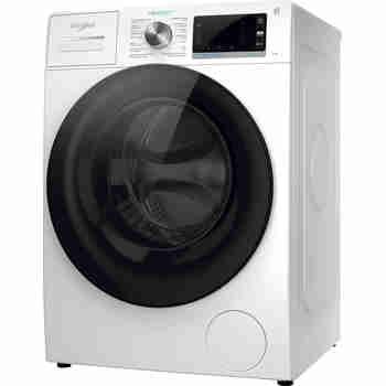 Whirlpool Wasmachine Vrijstaand W6 W845WB BE Wit Voorlader B Perspective