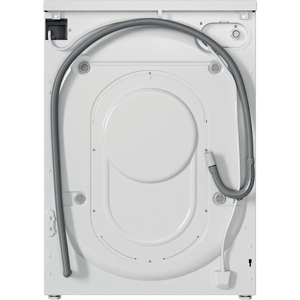Indesit Waschtrockner Freistehend EWDE 761483 W DE N Weiß Frontlader Back / Lateral