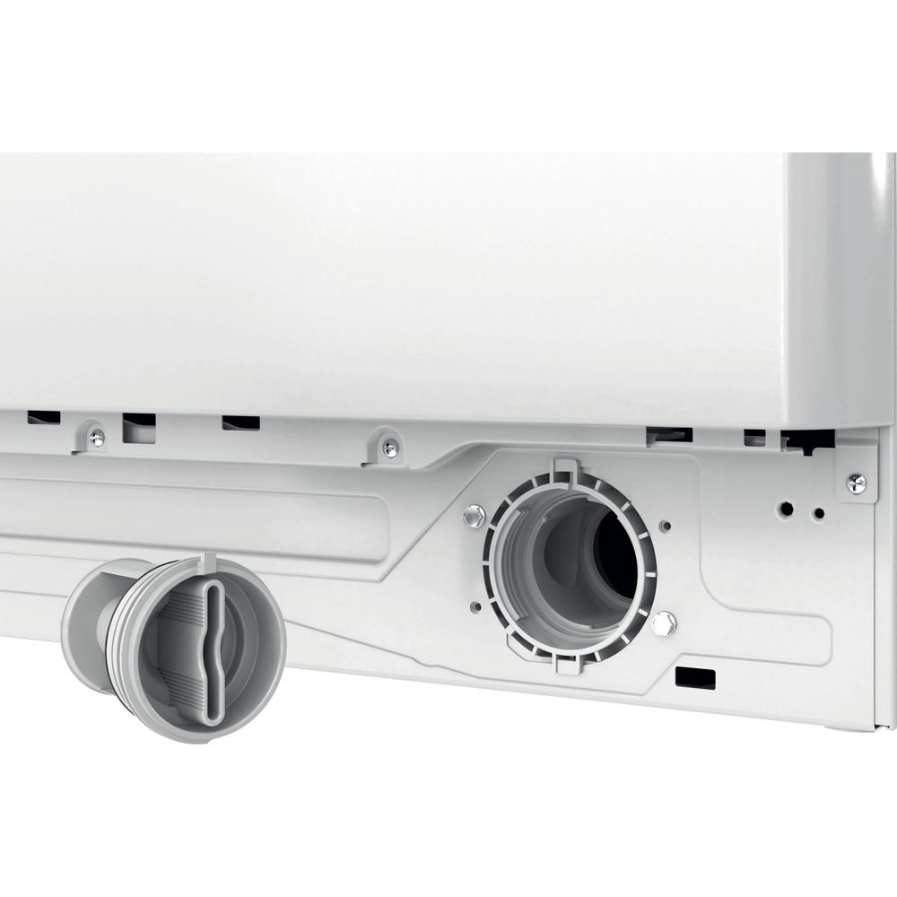 Indesit Lave-linge Pose-libre BWE 81683X WK EU N Blanc Frontal D Filter