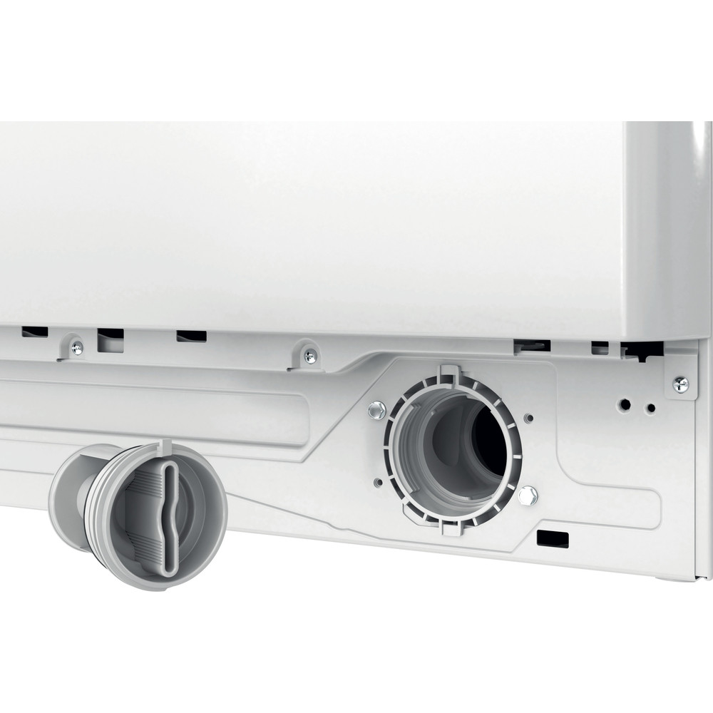 Indesit Wasmachine Vrijstaand BWE 81683X WK EU N Wit Voorlader D Filter