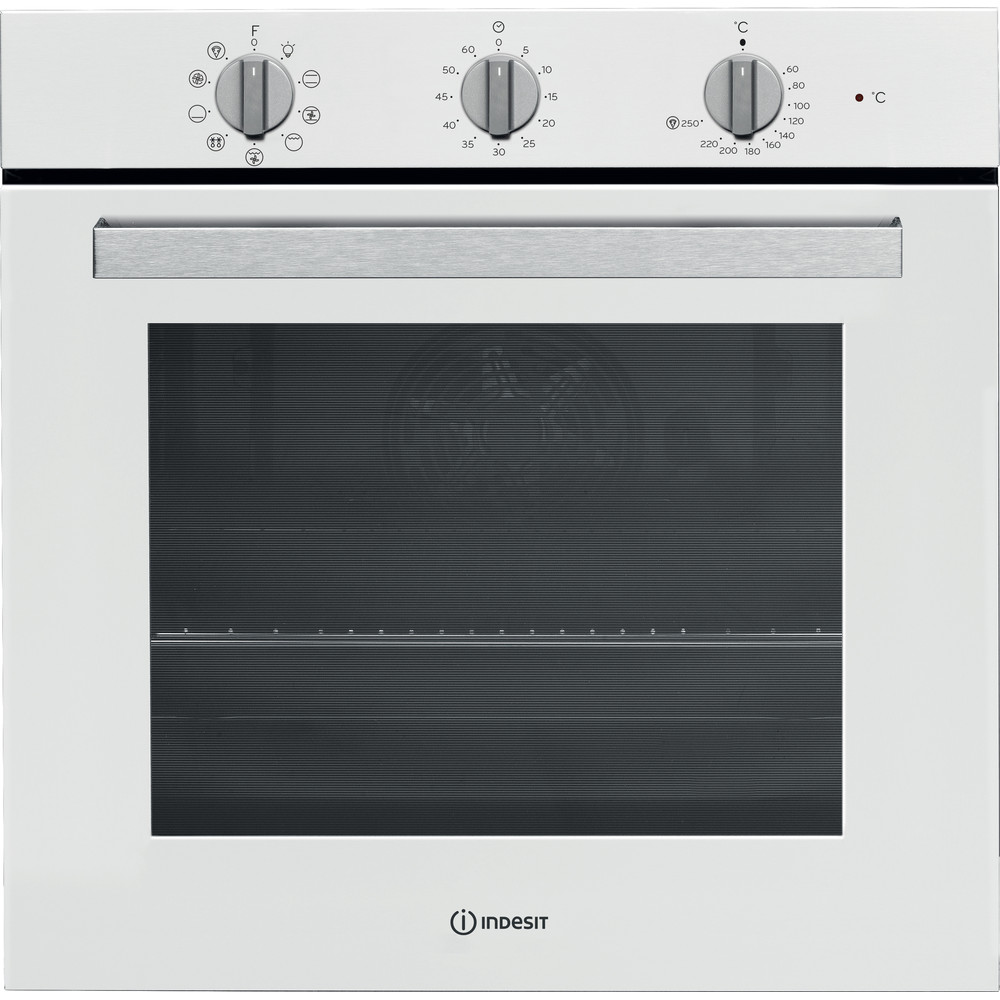 Indesit Фурна Вграден IFW 6834 WH Електрическо A Frontal