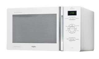 Vapaasti sijoitettava Whirlpool mikroaaltouuni: Valkoinen - MCP 346 WH