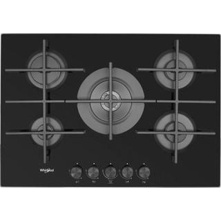 Whirlpool Gas Hob: 5 gas burners - GOW 7553/NB