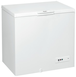 Whirlpool freestanding chest freezer: white color - CF 340 T