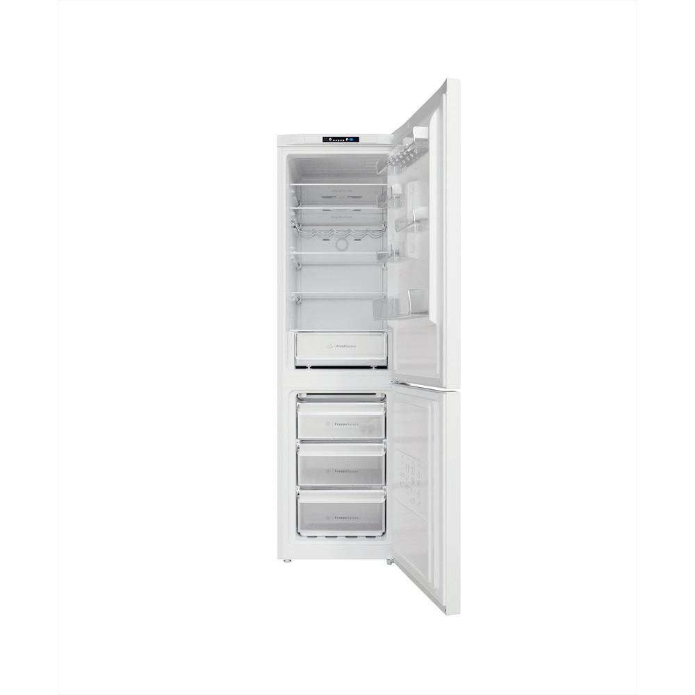 Indesit Kombinovaná chladnička s mrazničkou Voľne stojace INFC9 TI22W Biela 2 doors Frontal open
