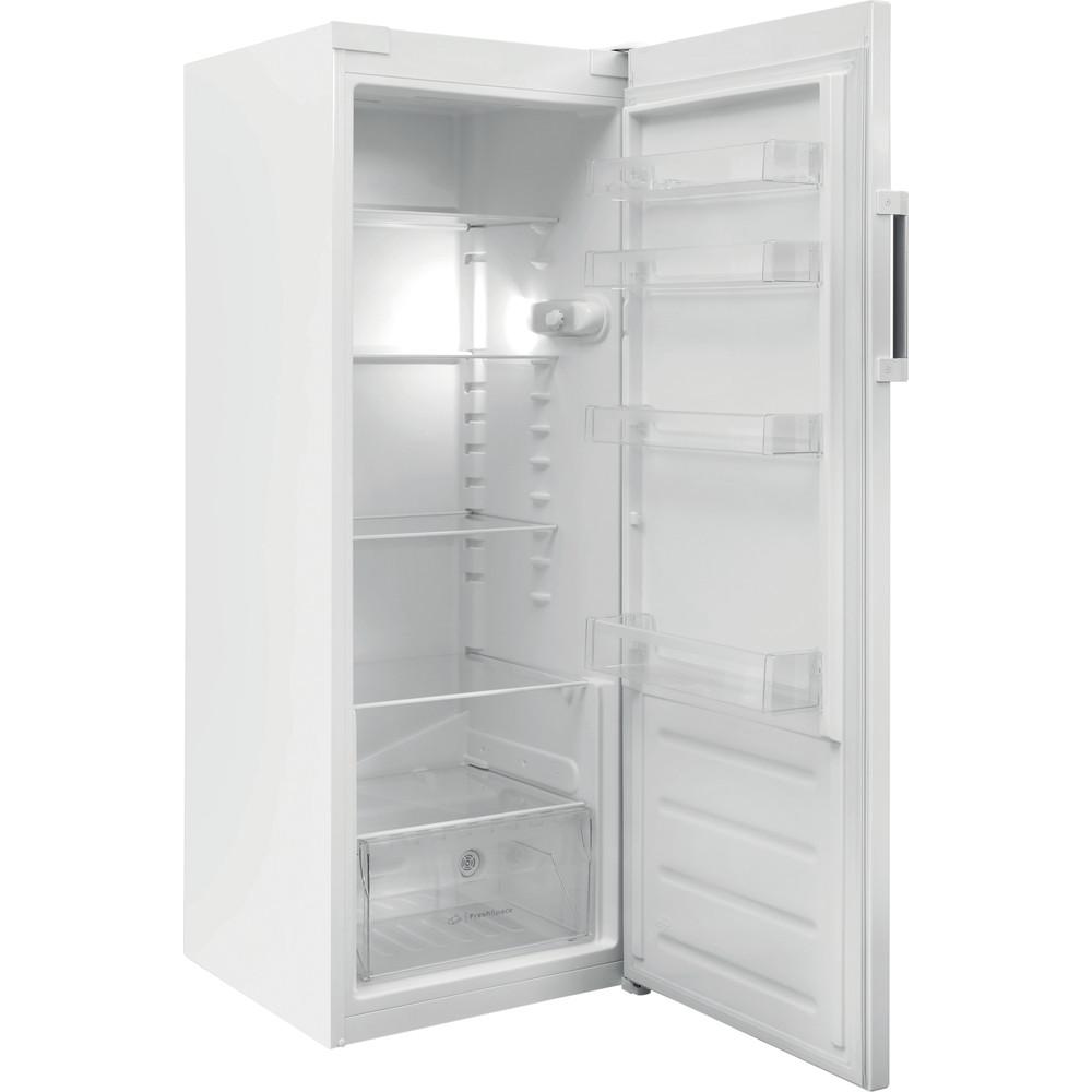 Indesit Réfrigérateur Pose-libre SI6 1 W Blanc Perspective open