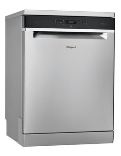 Whirlpool dishwasher: inox color, full size - WFO 3T223 6P X