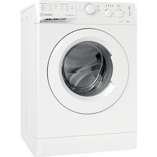 Indesit Tvättmaskin Fristående MTWC 71452 W EU White Front loader A++ Perspective
