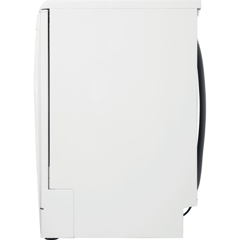 Indesit Dishwasher Free-standing DFC 2C24 UK Free-standing E Back / Lateral