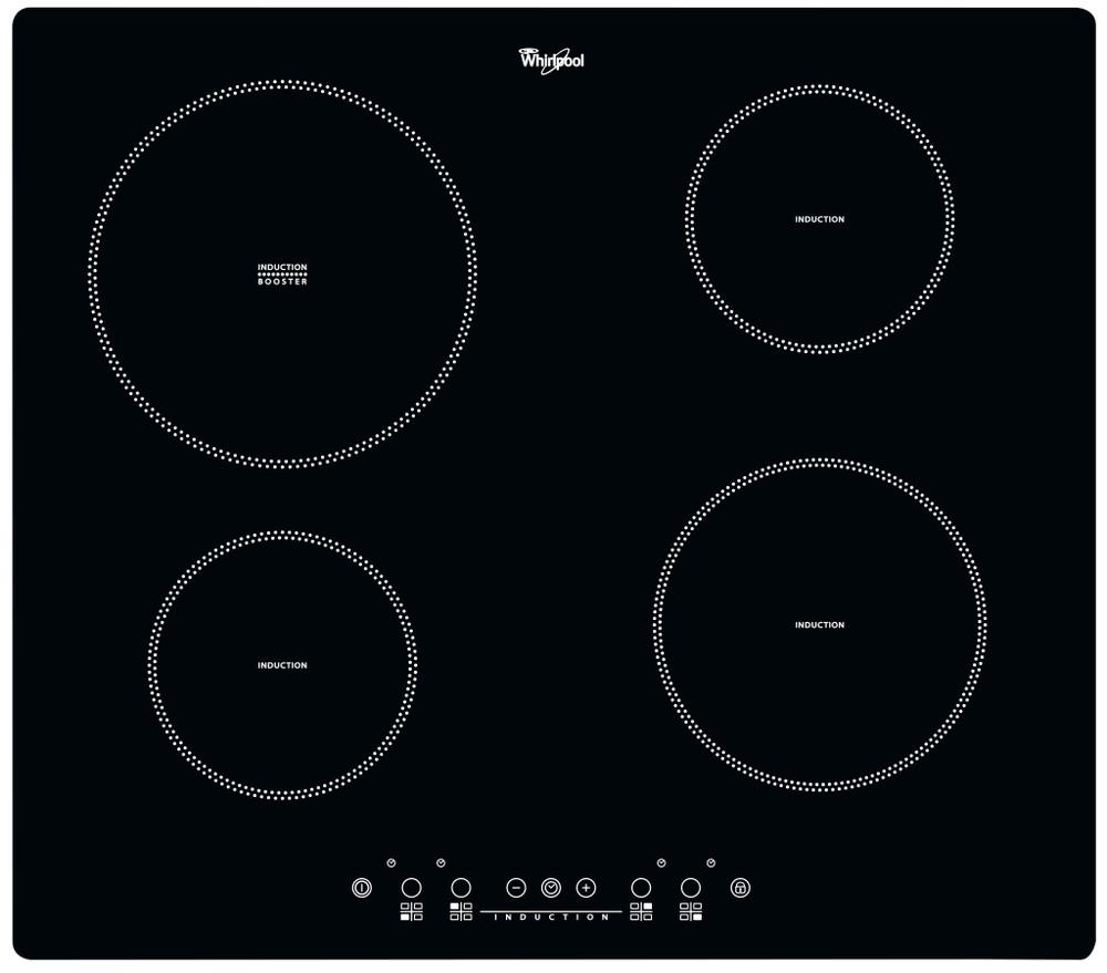 Whirlpool Ploča za kuhanje ACM 802/NE Crna Induction vitroceramic Frontal