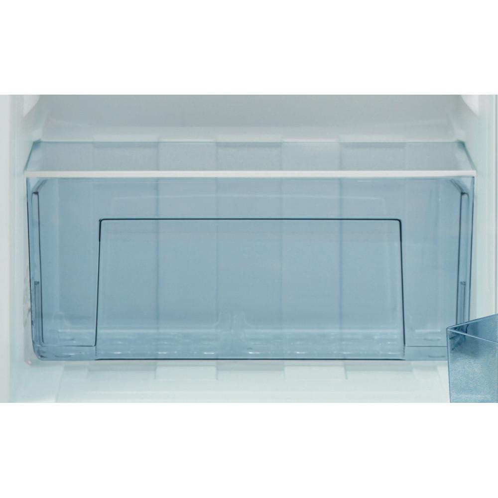 Indesit Refrigerator Free-standing I55VM 1110 S UK 1 Silver Drawer