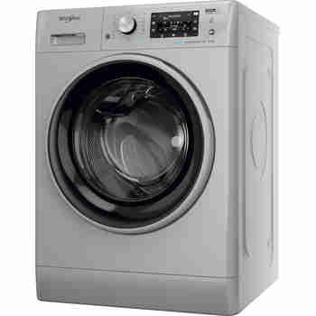 Whirlpool Maşină de spălat rufe Independent FFD 9448 SBSV EU Silver Încărcare frontală C Perspective