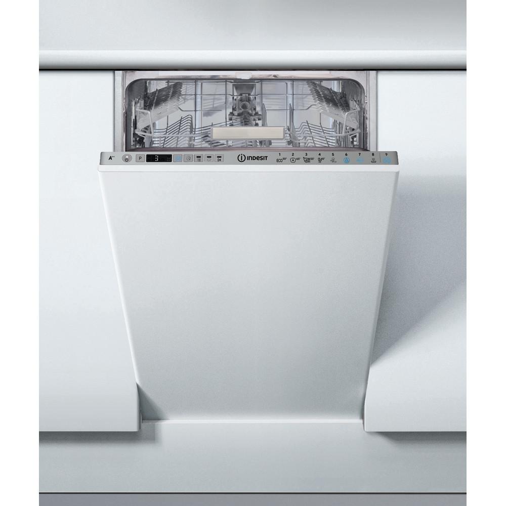 Indesit Посудомийна машина Вбудований (-а) DSIO 3T224 Z E Вбудована A++ Frontal