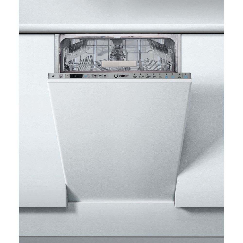 Indesit Máquina de lavar loiça Encastre DSIO 3T224 Z E Encastre total A++ Frontal