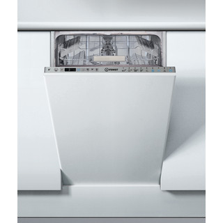 Máquina de lavar loiça de encastre Indesit: slim, Cor silver
