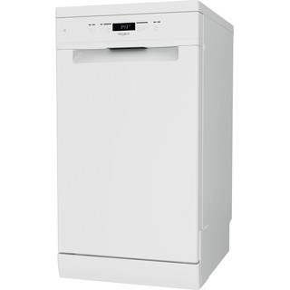 Whirlpool lavavajillas: color blanco, 45 cm - WSFC 3M17