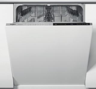 Whirlpool beépíthető mosogatógép: fekete szín., normál méretű - WIP 4T133 PE S