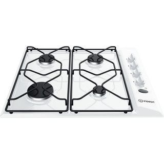 Indesit HOB PAA 642 /I(WH) White GAS Frontal top down