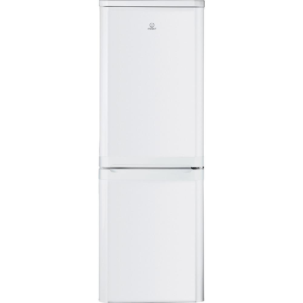 Indesit Combinazione Frigorifero/Congelatore A libera installazione NCAA 55 Bianco 2 porte Frontal