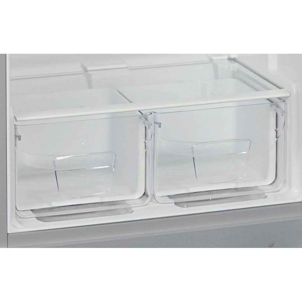 Indesit Холодильник с морозильной камерой Отдельностоящий TIA 16 S Серебристый 2 doors Drawer