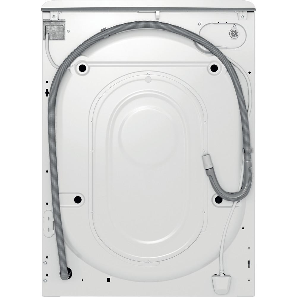 Indsit Maşină de spălat rufe Independent MTWE 91483 WK EE Alb Încărcare frontală D Back / Lateral