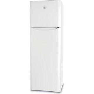 Indesit Combiné réfrigérateur congélateur Pose-libre TIAA 12 (1) Blanc 2 portes Perspective