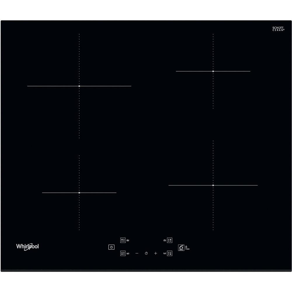 Whirlpool WS Q2760 BF Inductie kookplaat - Inbouw - 4 kookzones