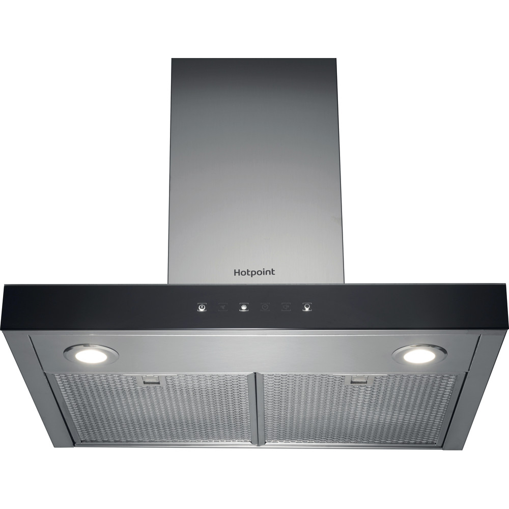 Hotpoint HOOD Built-in PHBS6.8FLTIX Inox Wall-mounted Electronic Frontal