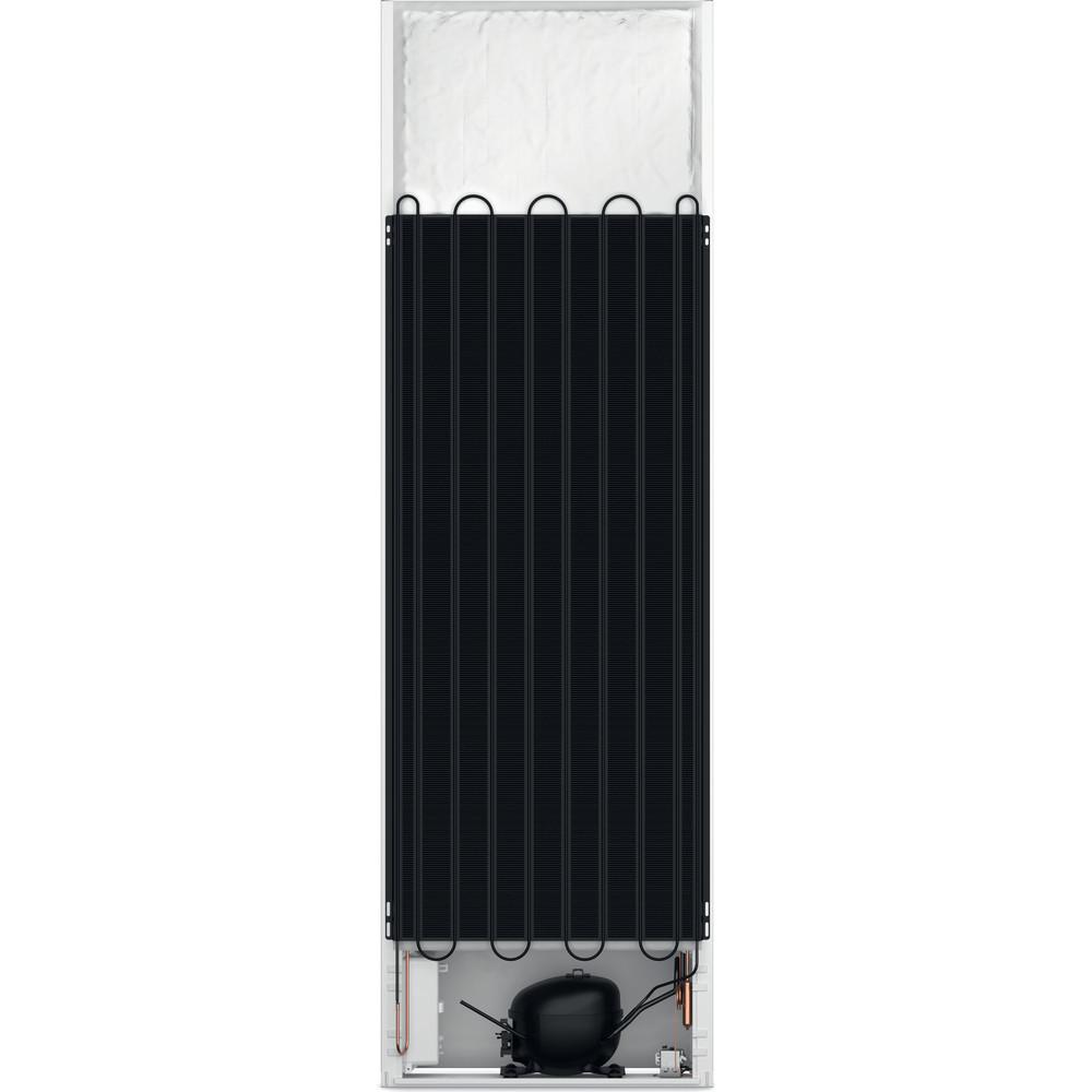 Indesit Koel-vriescombinatie Inbouw INC18 T311 Wit 2 deuren Back / Lateral
