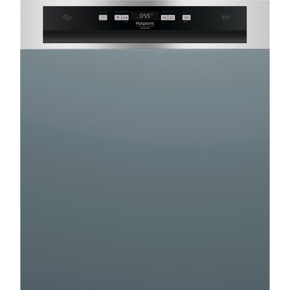 Hotpoint_Ariston Máquina de lavar loiça Encastre HBC 3C41 W Encastre parcial C Frontal