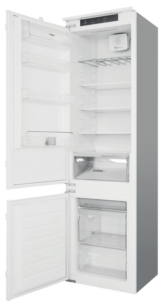 Whirlpool Fridge-Freezer Combination Built-in ART 228/80 SF1 White 2 doors Perspective open