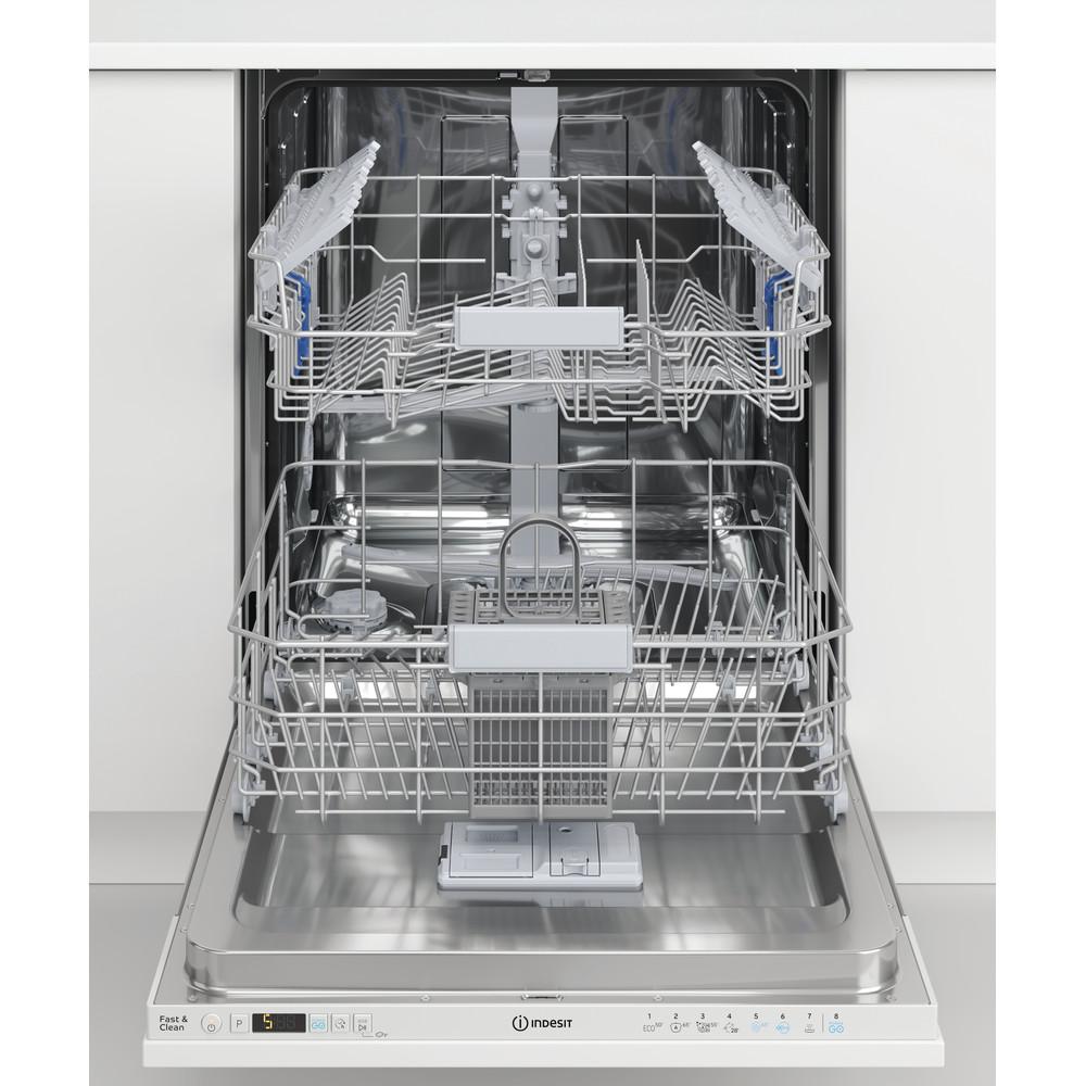 Indesit Máquina de lavar loiça Encastre DIC 3C24 A Encastre total E Lifestyle frontal open