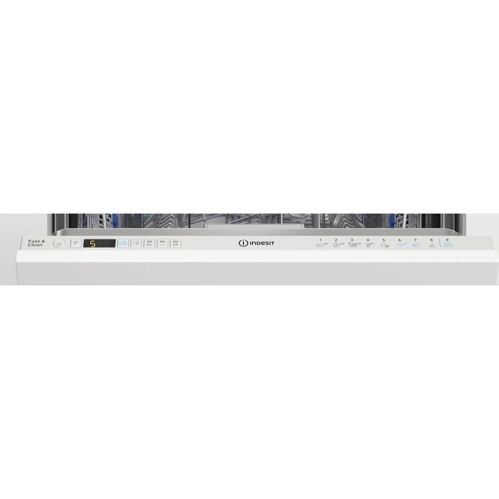 Indesit Lavastoviglie Da incasso DIO 3C24 AC E Totalmente integrato E Control panel