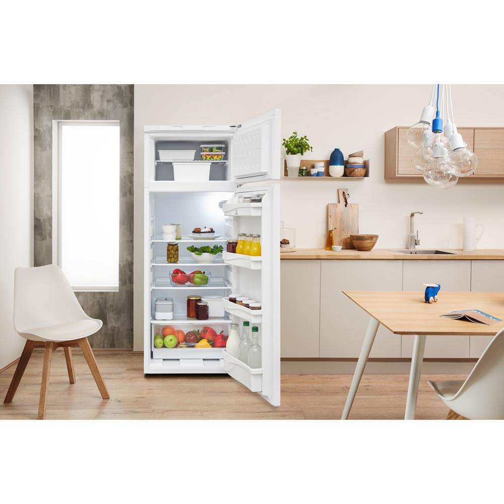 Indesit Комбиниран хладилник с камера Свободностоящи RAA 24 N (EU) Бял 2 врати Lifestyle frontal open